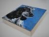 olieverf opdracht craddled canvas 20x20x3cm