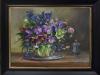 Olieverfschilderij-Helleborussen te koop