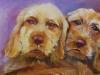 Vizsla's olieverfschilderij te koop