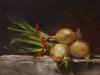 bos-uien olieverf op board 18 x 24 cm te koop