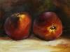 olieverf perziken-joke-klootwijk (Verkocht)