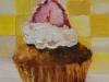 Olieverf cake-brownie (VERKOCHT)