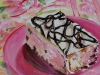 ice-cream-cake, maat 14 x 14 cm olieverf op paneel