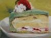 Olieverf mintgroen-cakegebak te koop