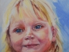 Olieverf portret-claudia