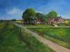 olieverf in opdracht polder Zuidland 80 x100 cm