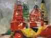 Olieverf Boeien magazijn-vlissingen