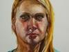 studie-portret H2O olieverf