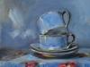Olieverf joke-klootwijk-my-blue-cups