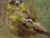 Olieverf Bird-Joke Klootwijk (Verkocht)