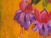 Bloemen in H20 Olieverf