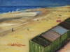 Strandhuisjes H20 Olieverf