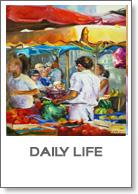 Daily Life olieverf schilderijen