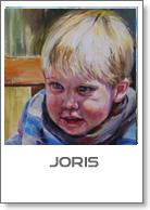 Joris baby schilderijen Joke Klootwijk