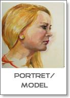 portret en model schilderijen van Joke Klootwijk