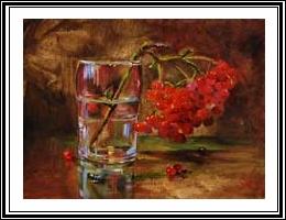 glas in olieverf leren schilderen