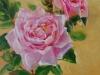 Olieverf New Dawn Rose, maat 15x15 cm te koop