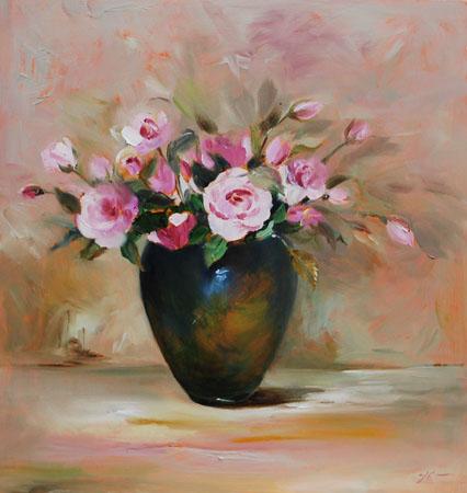 Voorkeur Bloemen Schilderijen Olieverf FN33 | Belbin.Info #JX58