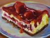 Citroencake-met-aardbei te koop