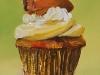 olieverf cupcake-tiramisu te koop
