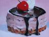 Olieverfschilderij chocolade Mousse (VERKOCHT)