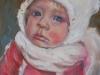 Olieverf portret, charlie-joke-klootwijk