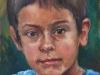 studie kinderportret olieverf