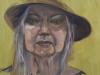 Olieverf pleinair portret 2 uur studie