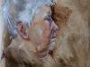 portretstudie in olieverf H20 van Anne