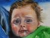 Olieverf schilderij Joris 16weken