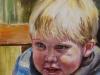 Olieverf schilderij joris-pinksteren-jokeklootwijk