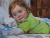 Olieverf schilderij joris10maanden