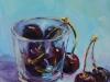 olieverf glas met Zeeuwse kersen te koop