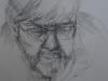 Portret studie Henk potlood