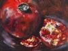 Olieverf Granaat appel